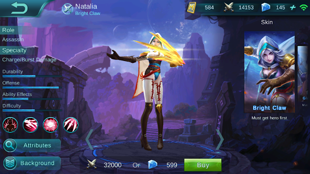 Natalia, the Bright Claw Item (Damage) Build And Guide