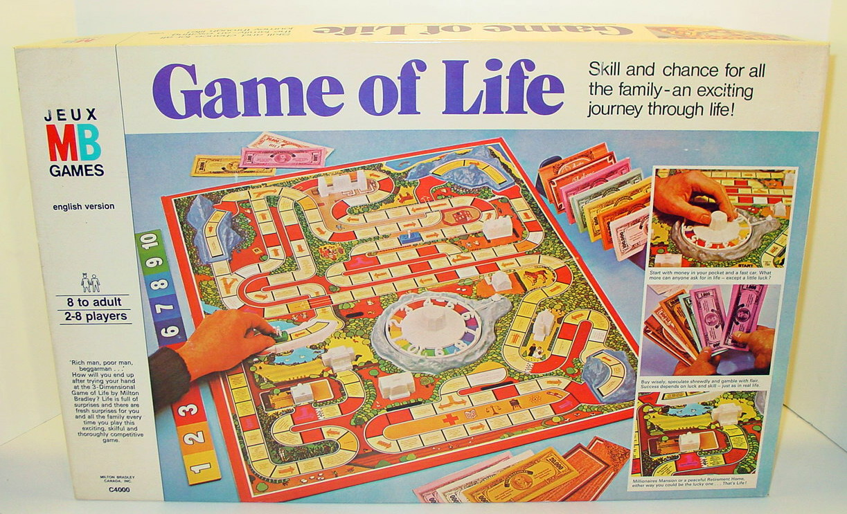 The Game of Life Classic Edition by Winning Moves