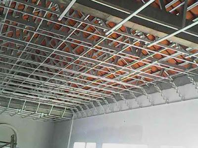 memasang plafon baja ringan jenis untuk rangka rumah minimalis