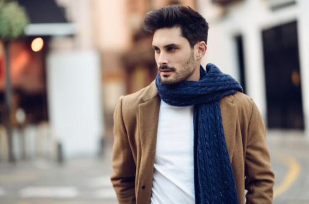 18794fc61a706 Take a look at these 7 great fashion items the men in your life will love:  1. Scarf. Men look good in knots ...