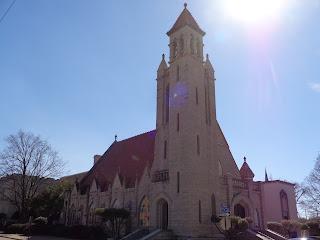 First Presbyterian in the sun