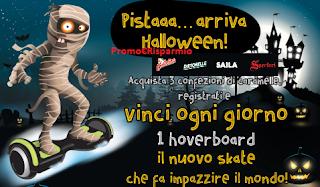 Logo Con Galatine, Dietorelle, Sperlari e Saila vinci 18 Hoverboard