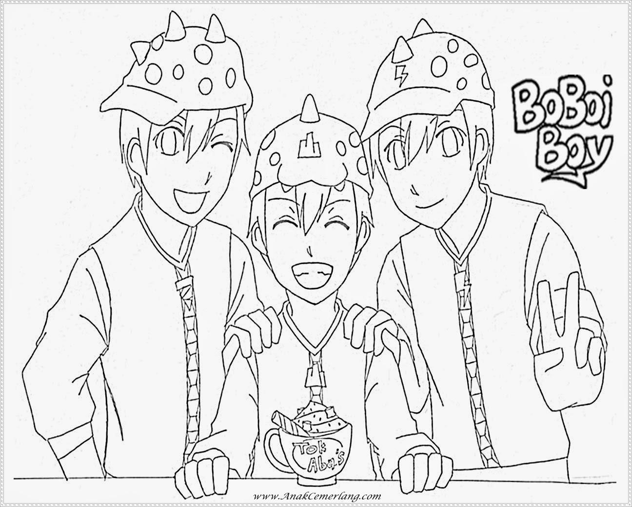 Gambar Lukisan Kartun Boboiboy Brad Erva Doce Info