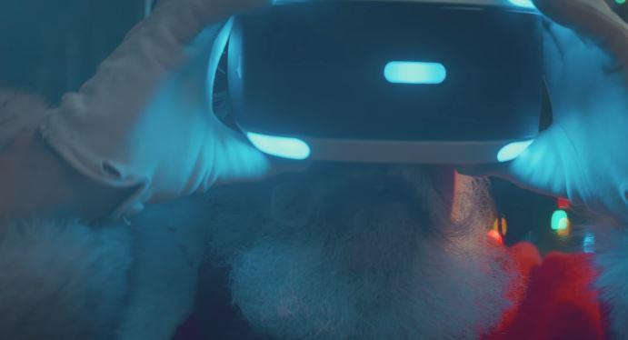 Pubblicità PlayStation augura Buon Natale con Foto - Testimonial Spot PlayStation 2017