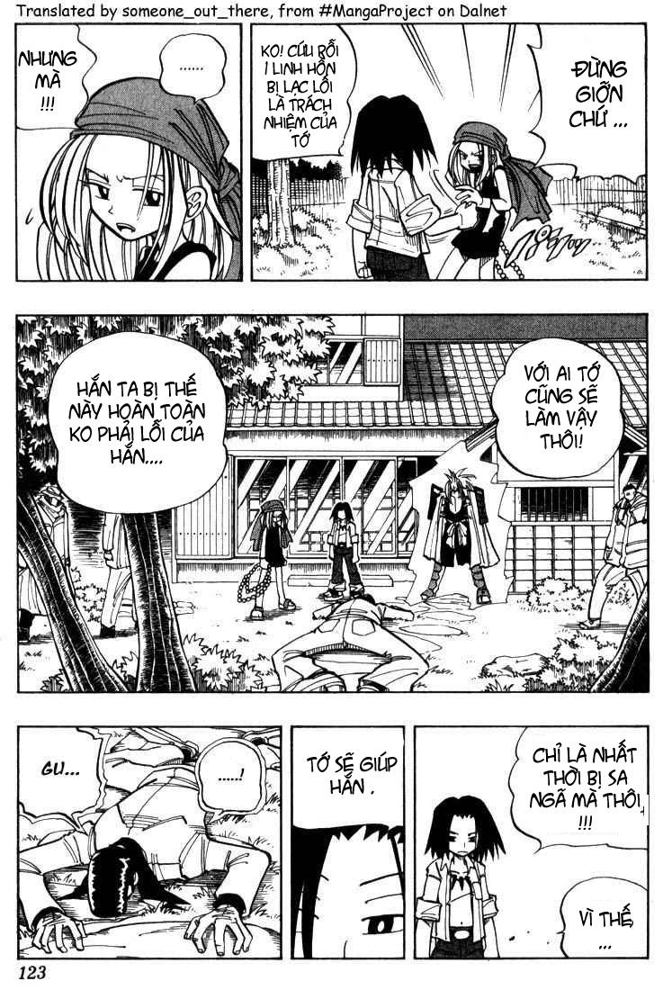 Shaman King [Vua pháp thuật] chap 23 trang 15