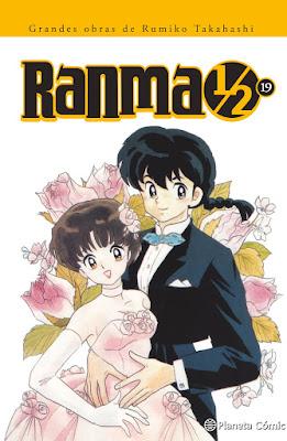 Ranma 1/2, el shônen de Rumiko Takahashi nos dice adiós en el tomo 19 de su edición kanzenban