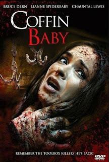 Coffin Baby, carátula DVD película dirigida por Dean Jones.