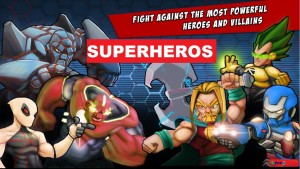 Superheros Free Fighting Games MOD APK