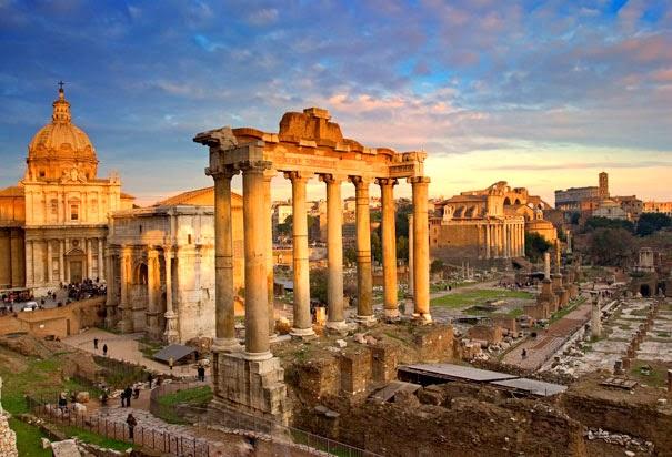 O que fazer em Roma - Forum Romano