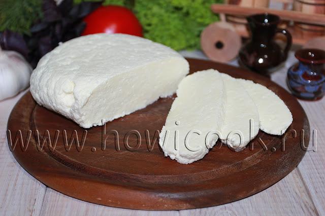 рецепт брынзы с пошаговыми фото