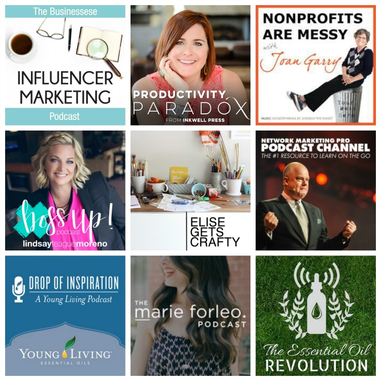 9 Podcasts for women