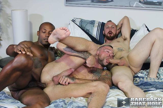 Bare Back That Hole - Dustin Steele, Osirus Blade and Sean Duran