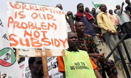 nigeria 3rd most corrupt country world