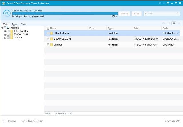 Cara mengembalikan file yang terhapus permanen 4