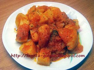 Πατάτες γιαχνί - από «Τα φαγητά της γιαγιάς»