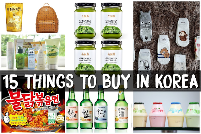 15 THINGS TO BUY IN KOREA - Spicy Ramyeon, Banana Milk, Honey Butter Chip & Almond