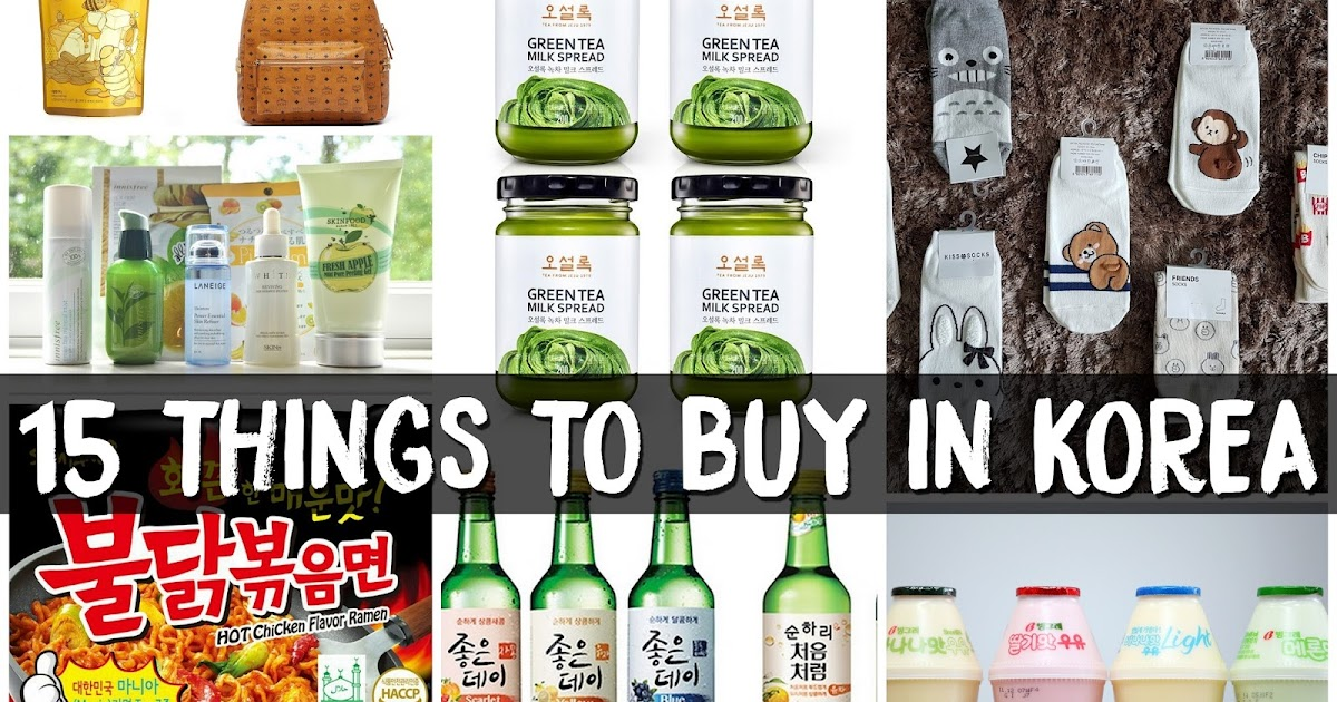 15 Things To Buy In Korea Spicy Ramyeon Honey Butter Almond