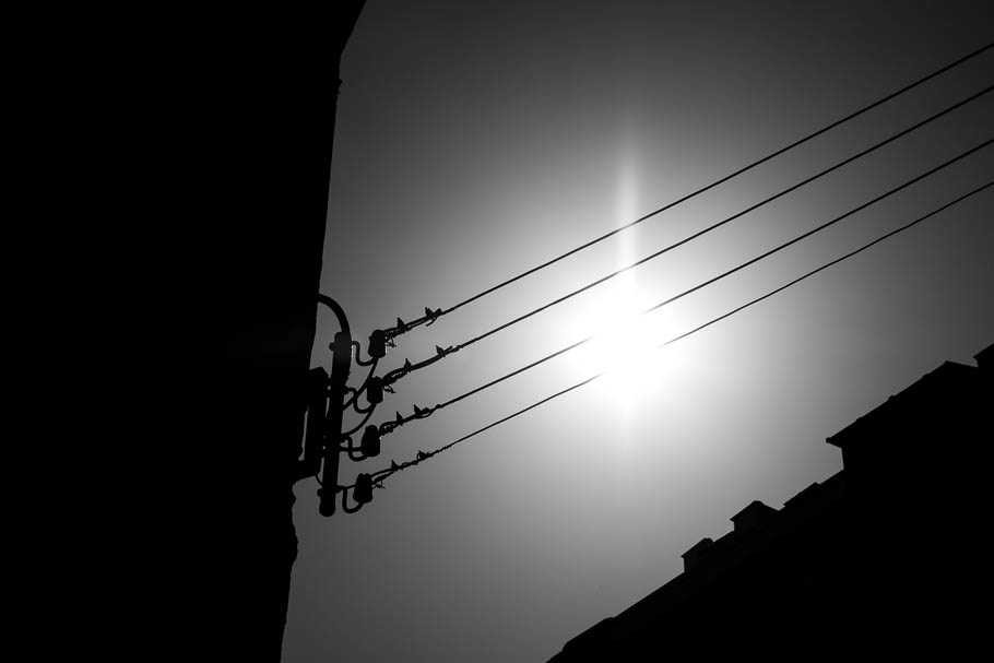 'En cable de sol', Carlos Larios