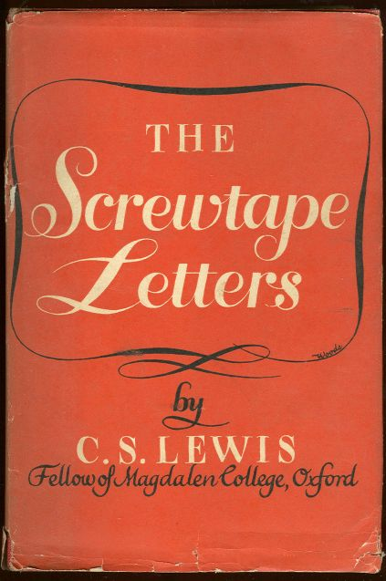 Book Review of The Screwtape Letters by C S Lewis at Reading to Know