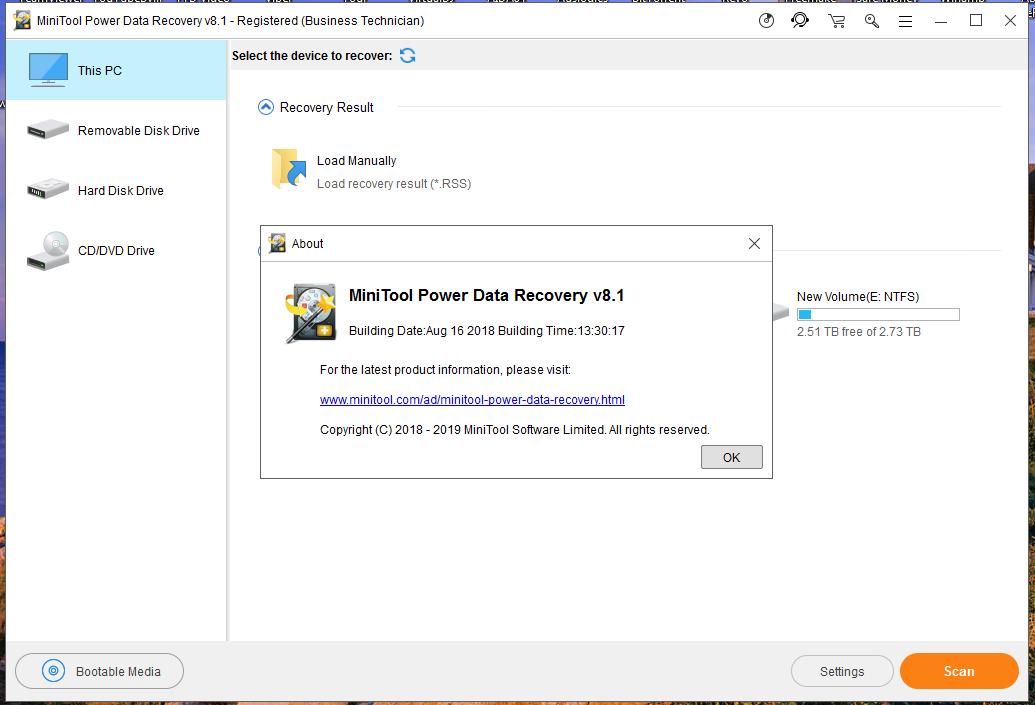 minitool partition server edition