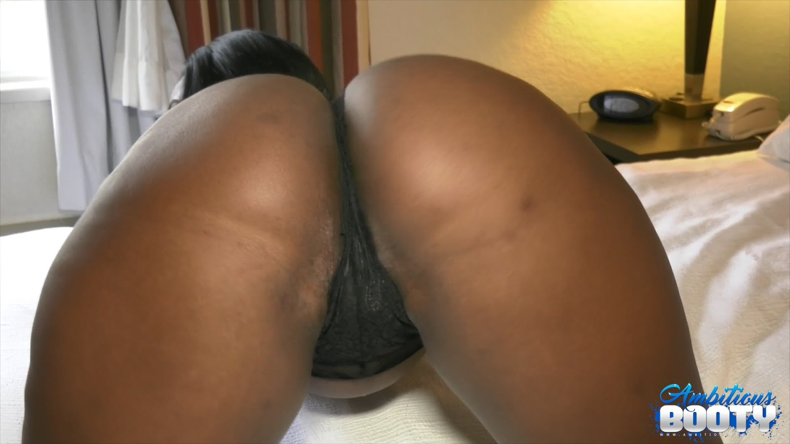 Pure black ass