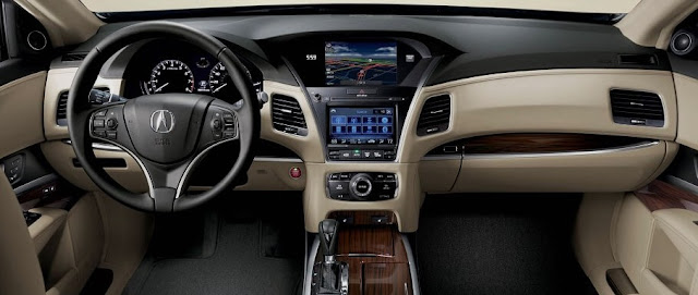 2018 Acura RLX Interior Redesign