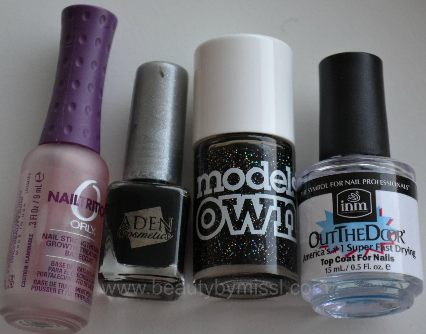 orly, aden cosmetics, models own, INM OTD