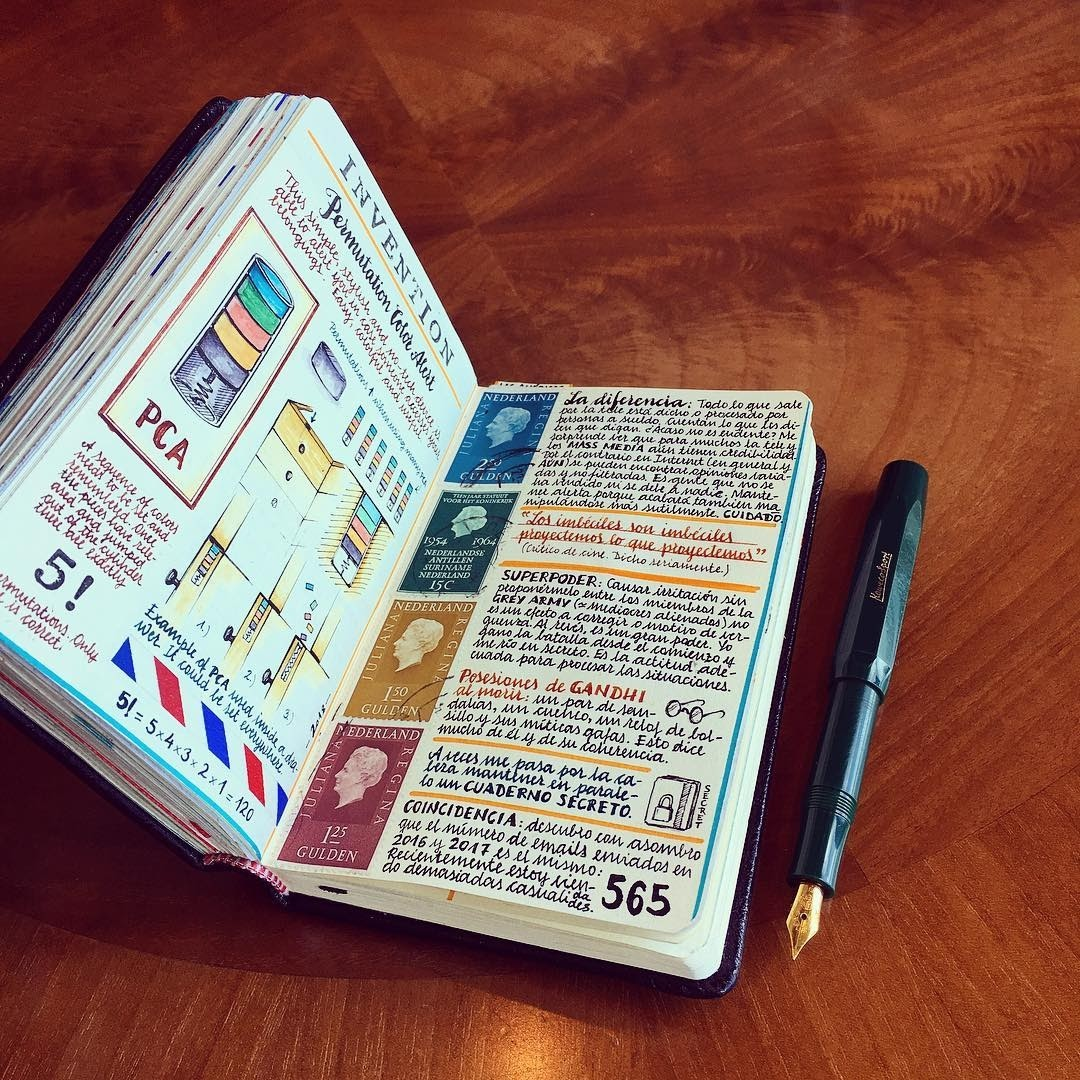 12-Morons-are-morons-Jose-Naranja-Urban-Drawings-Travel-Journal-www-designstack-co