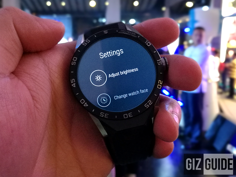It's on Android Wear!
