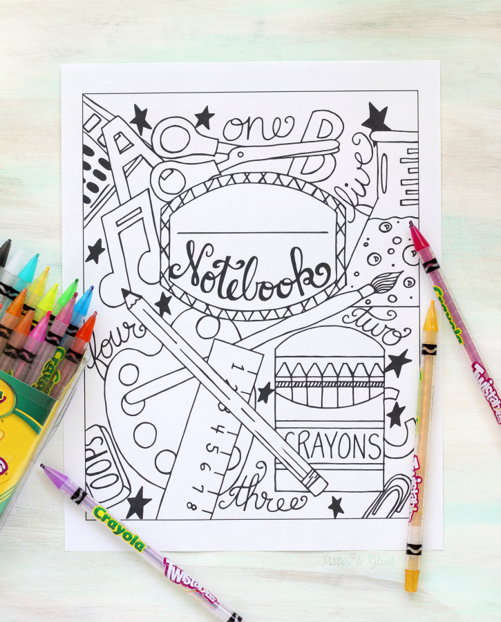 download a copy of the back to school coloring page here