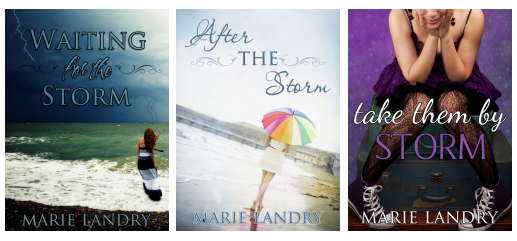 waiting for the storm after the storm take them by storm marie landry contemporary young adult new adult romance lgbtq+