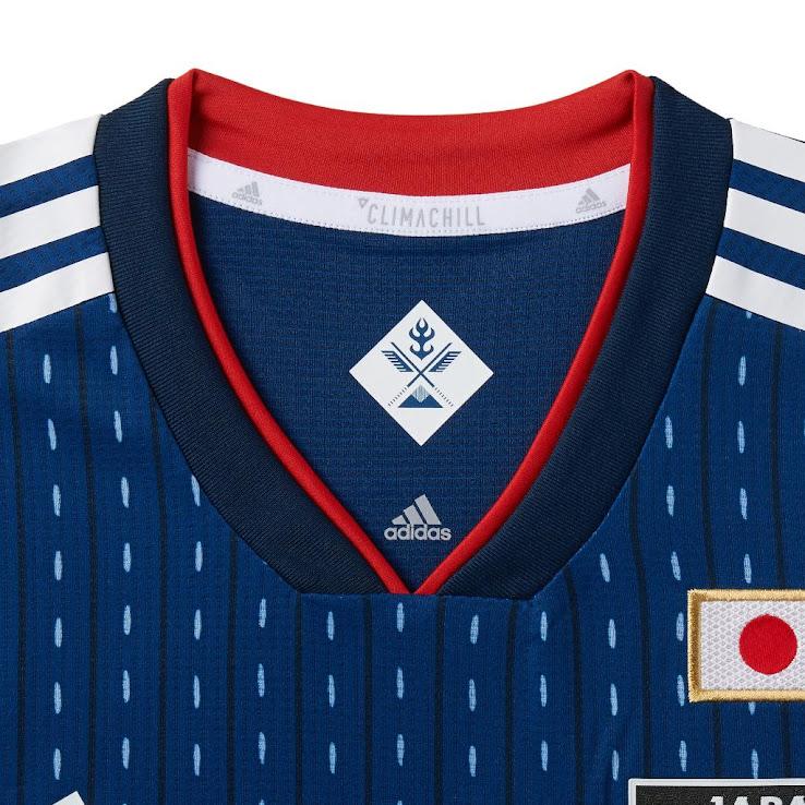 Desain Seragam Piala Dunia 2018 Jepang