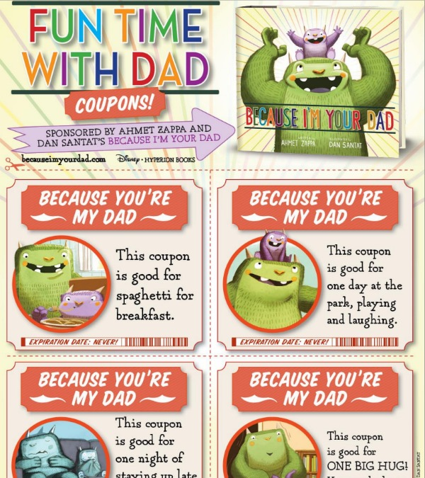 20 Free Father's Day Printables: Last Minute Cards, Gifts