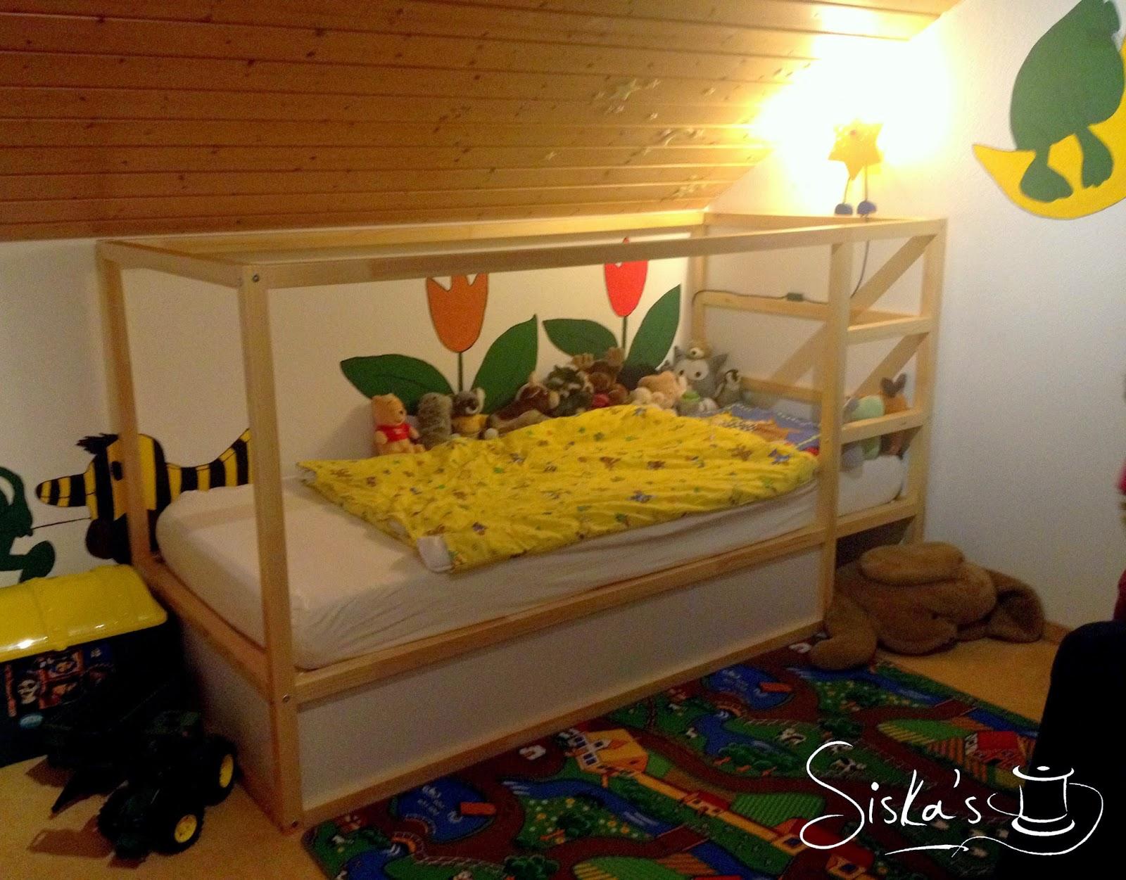 siska 39 s ikea hacker oder wie aus bett kura ein janosch haus wird. Black Bedroom Furniture Sets. Home Design Ideas