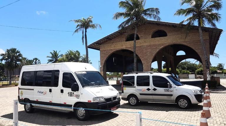 serviço de vans o aeroporto para o beach park fortaleza