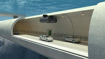 Πλωτά υποβρύχια τούνελ θα διασχίζουν τα φιόρδ της Νορβηγίας