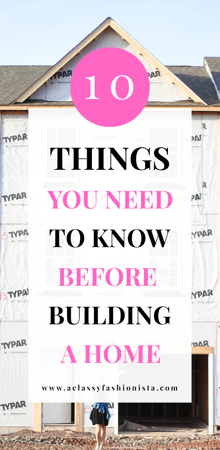 Ten things you need to know before building a home a - What to know before building a house ...