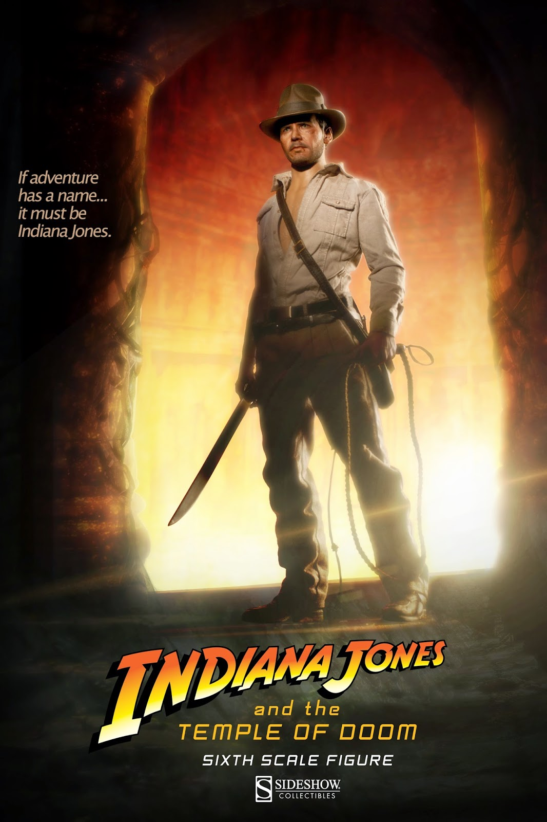 Indiana Jones Temple of Doom Figure From Sideshow Collectibles