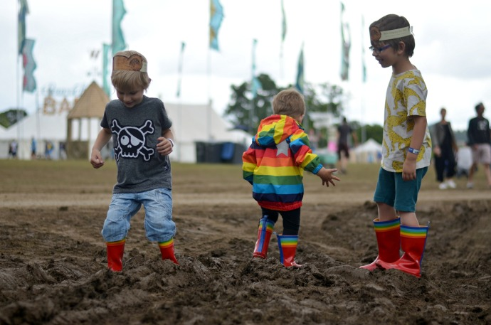 Wilderness festival, family friendly festival, festival with children
