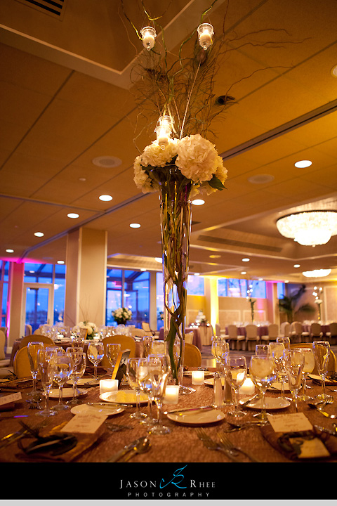Golden Wedding Planners Was At The Oyster Point Hotel Meeting With Vendors And Putting Everything Together Cake Arrived Then Flowers
