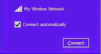 Windows lets you select whether to remember a network for future use.