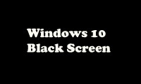 Mengatasi Black Screen Windows 10