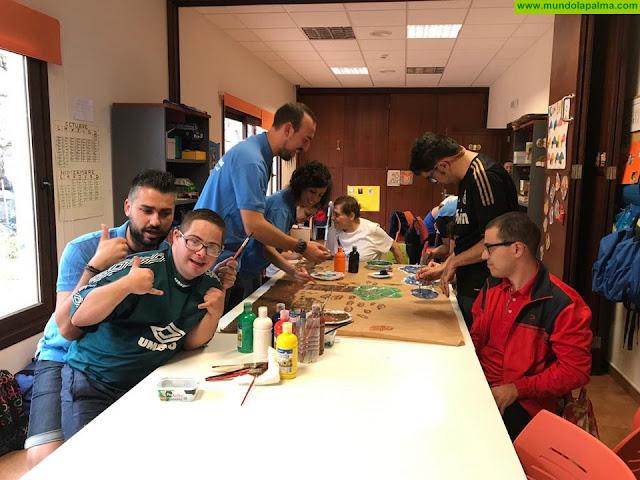 """Asociación NEP y la Obra Social """"la Caixa"""" trabajan en equipo por los niños especiales de La Palma"""