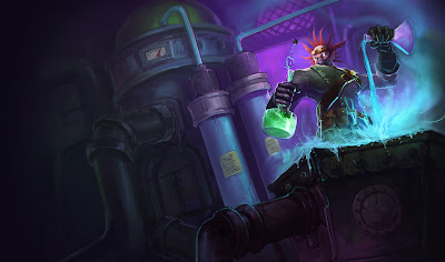 Mad Scientist Singed Skin