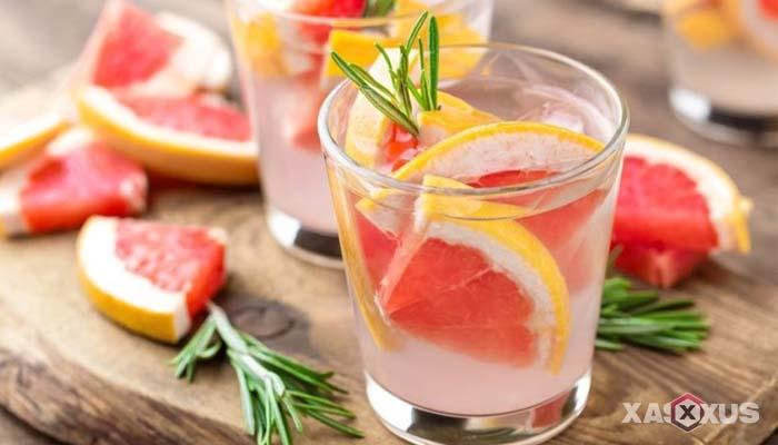 Minuman untuk diet alami dan cepat - Infused Water