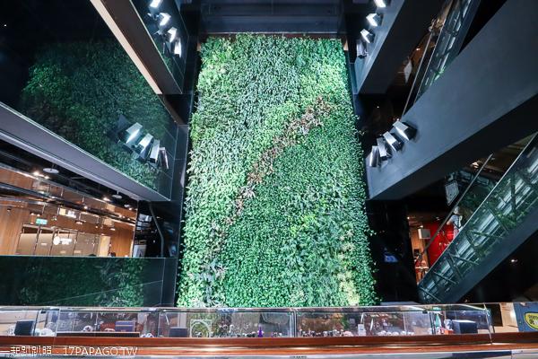 誠品生活台中園道店|21公尺雲門藝術光牆|3公尺火箭|改裝後更美了
