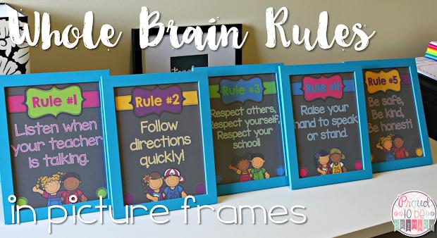 Brain Teaching Rules Make Sense Proud