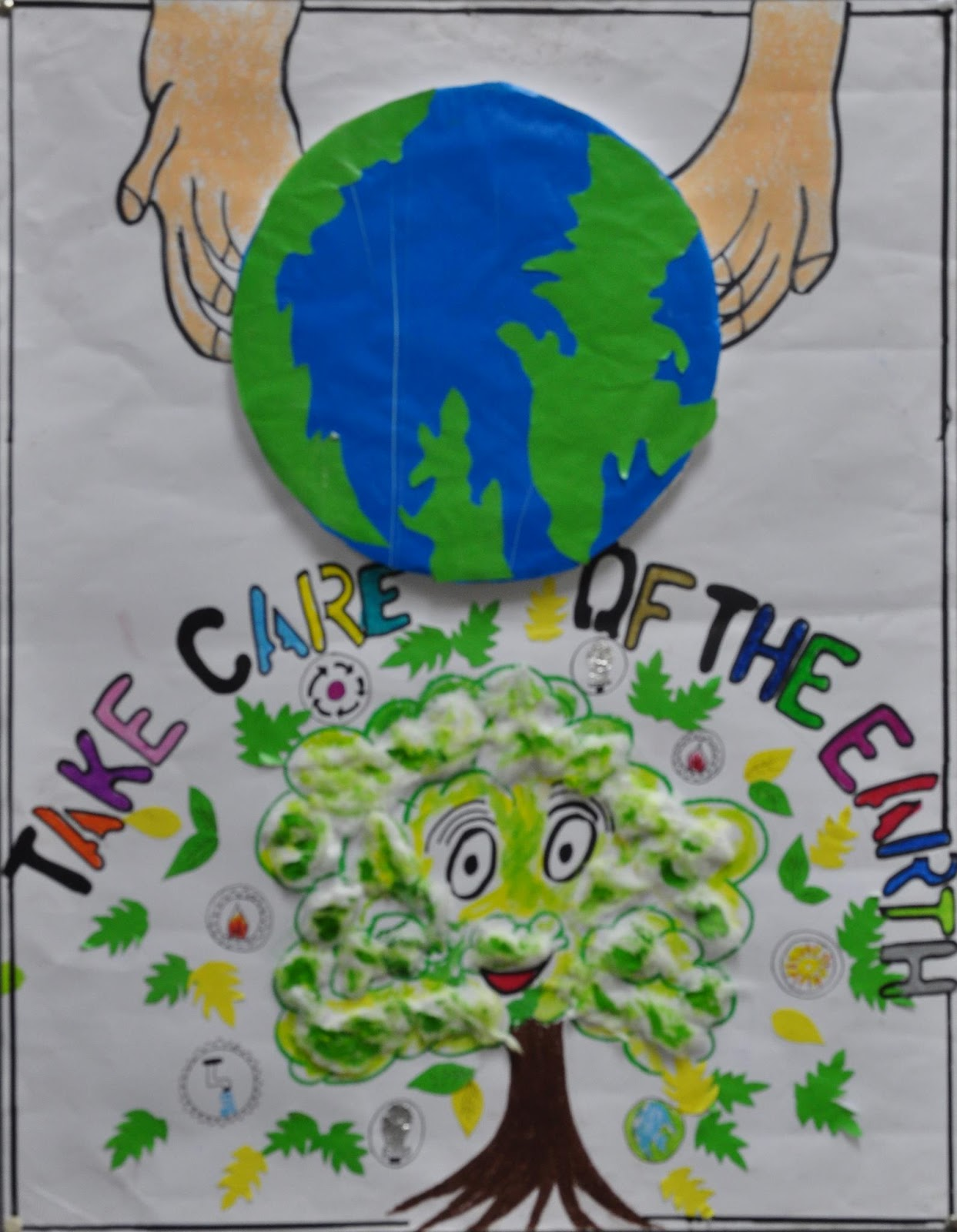 CJM Stands Out At The US Consulate Poster Competition EARTH DAY POSTER CONTEST