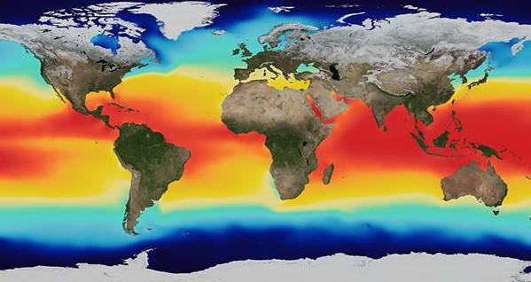 صوت الحقيقة..حرارة المحيطات سجلت مستويات قياسية في 2018