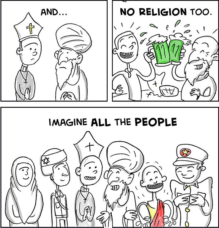 Intro a la Diversidad Cultural (3): Imagine / John Lennon